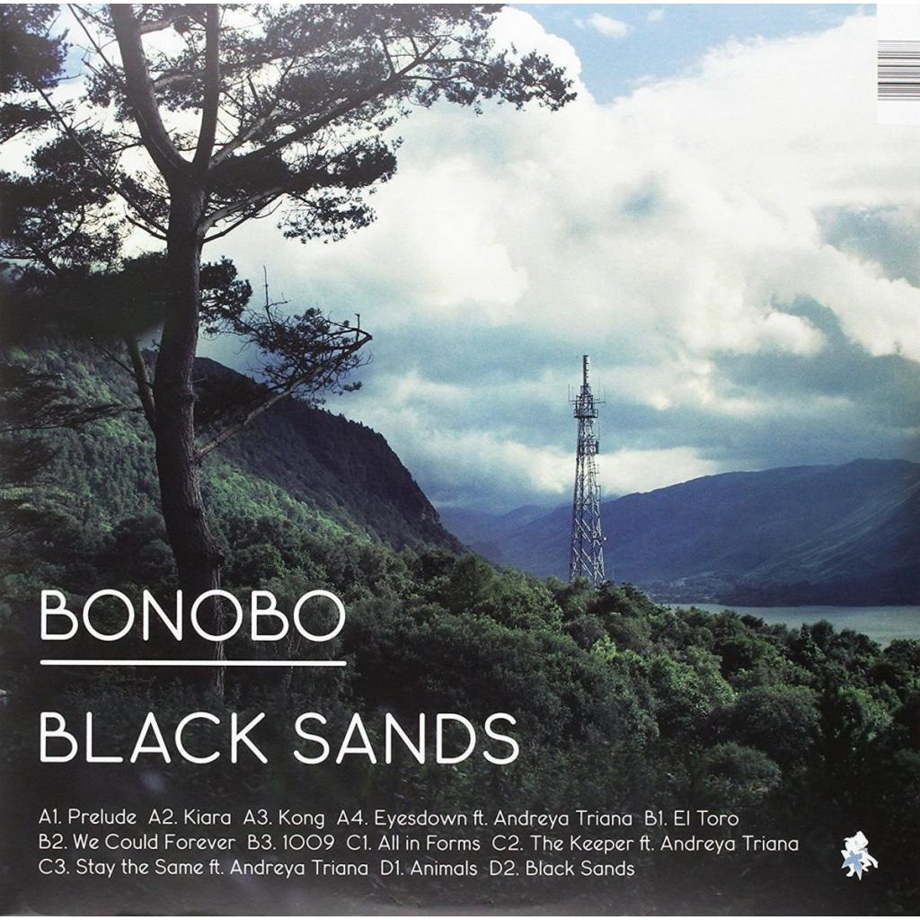 Vinyl Bonobo - Black Sands, Ninja Tune, 2010, 2LP