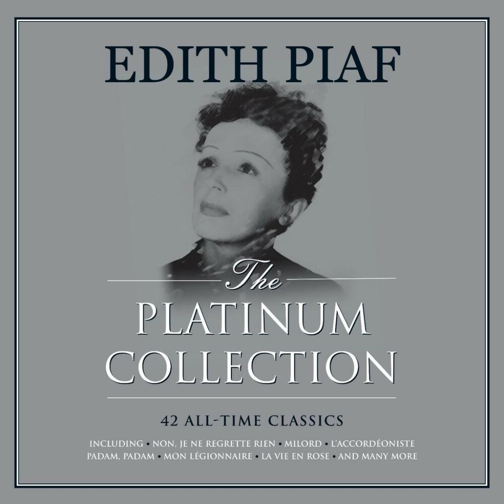 Vinyl Edith Piaf – Platinum Collection, Not Now, 2018, 3LP, Gatefold, Coloured Vinyl