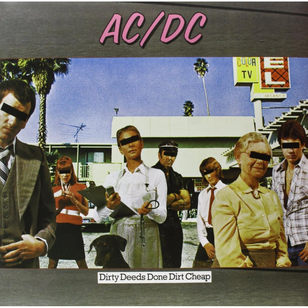 Vinyl AC/DC - Dirty Deeds Done Dirt Cheap, Epic, 2009, 180g