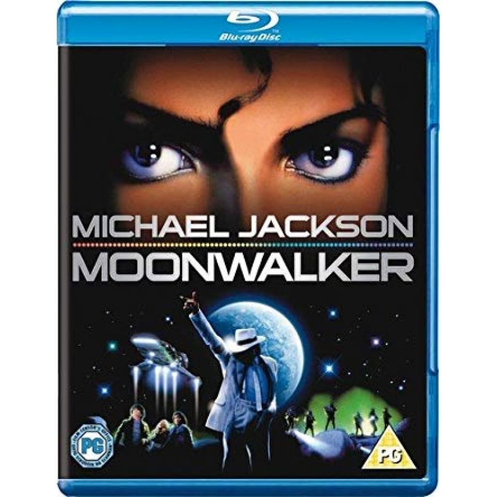 Blu-ray Michael Jackson - Moonwalker, Warner Home Video, 2010, Britská verzia