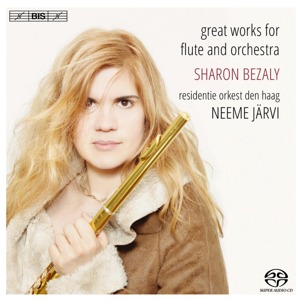 SACD Sharon Bezaly - Great Works For Flute & Orchestra, Bis, 2013