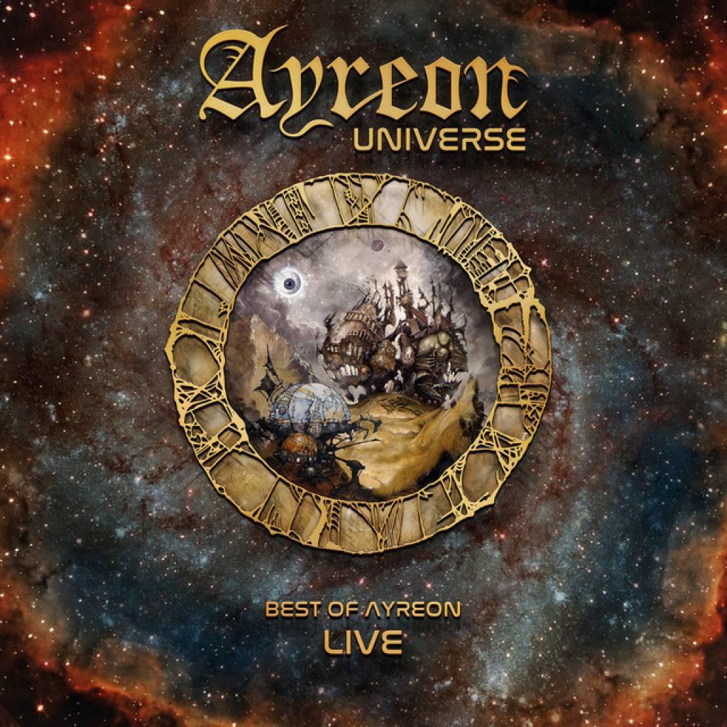 Vinyl Ayreon - Ayreon Universe: The Best of Ayreon Live, Music Theories Recordings, 2018, 3LP, HQ