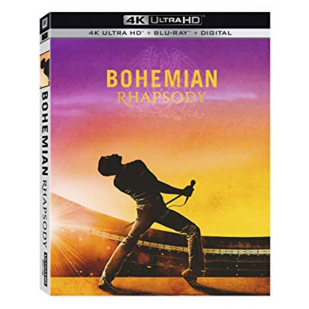 Blu-ray Bohemian Rhapsody, UHD + BD, 2BD, CZ dabing