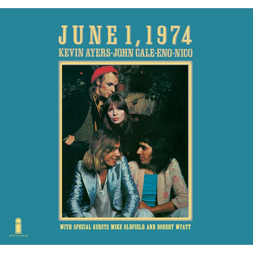 Vinyl Kevin Ayers/John Cale/Brian Eno/Nico - June 1 1974, Elemental, 2018, Limited Edition, Remaster, Gatefold Sleeve