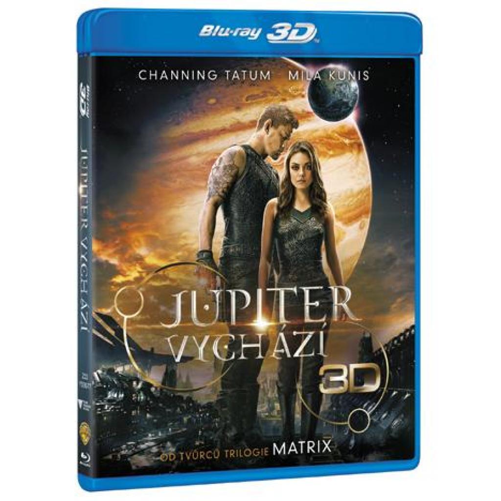 Blu-ray Jupiter Vychází 2BD, Jupiter Ascending