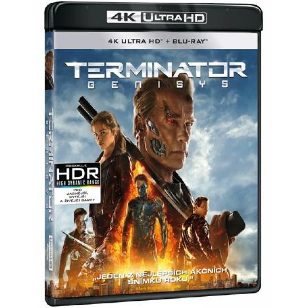 Blu-ray Terminator: Genysis, UHD + BD, CZ dabing