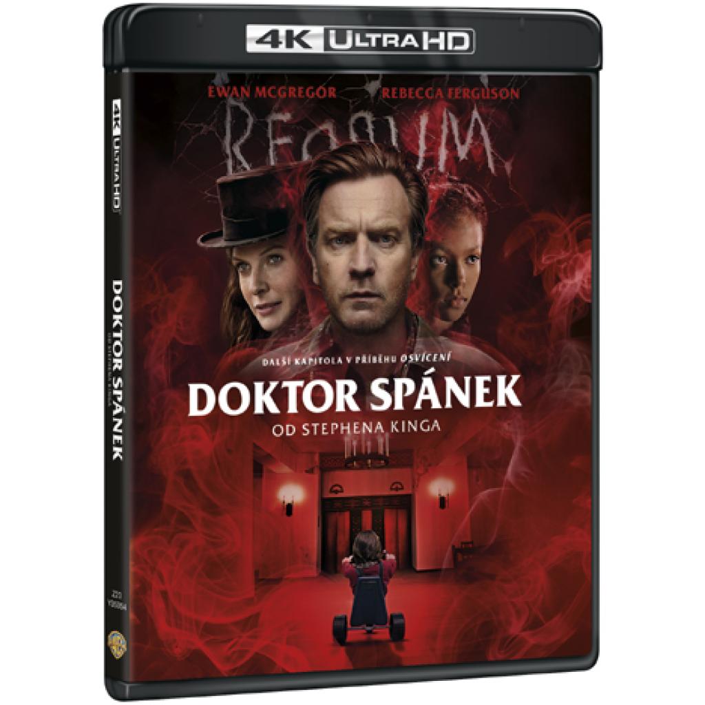 Blu-ray Doktor spánek od Stephena Kinga, UHD + BD, CZ dabing