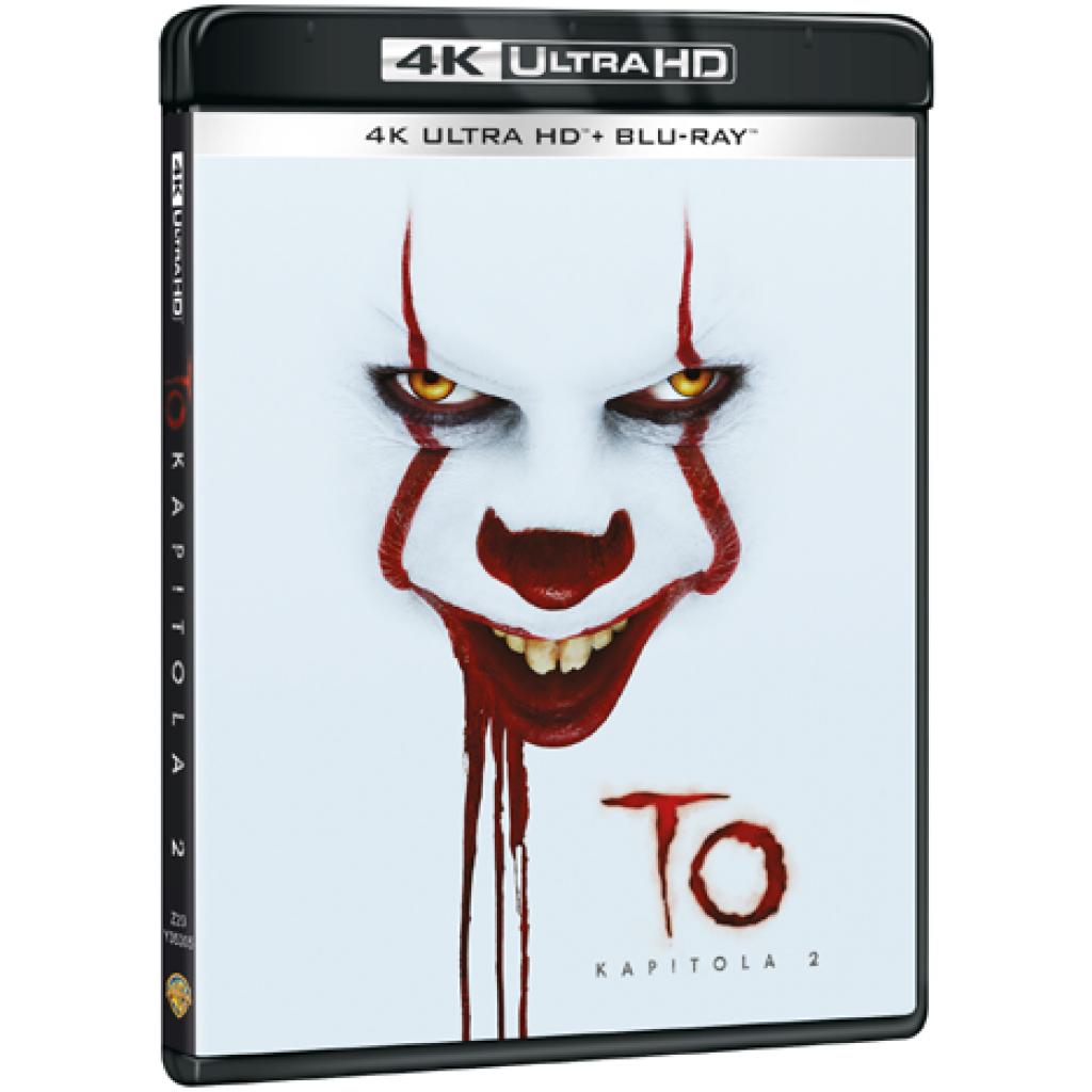 Blu-ray To kapitola 2, UHD + BD, CZ dabing