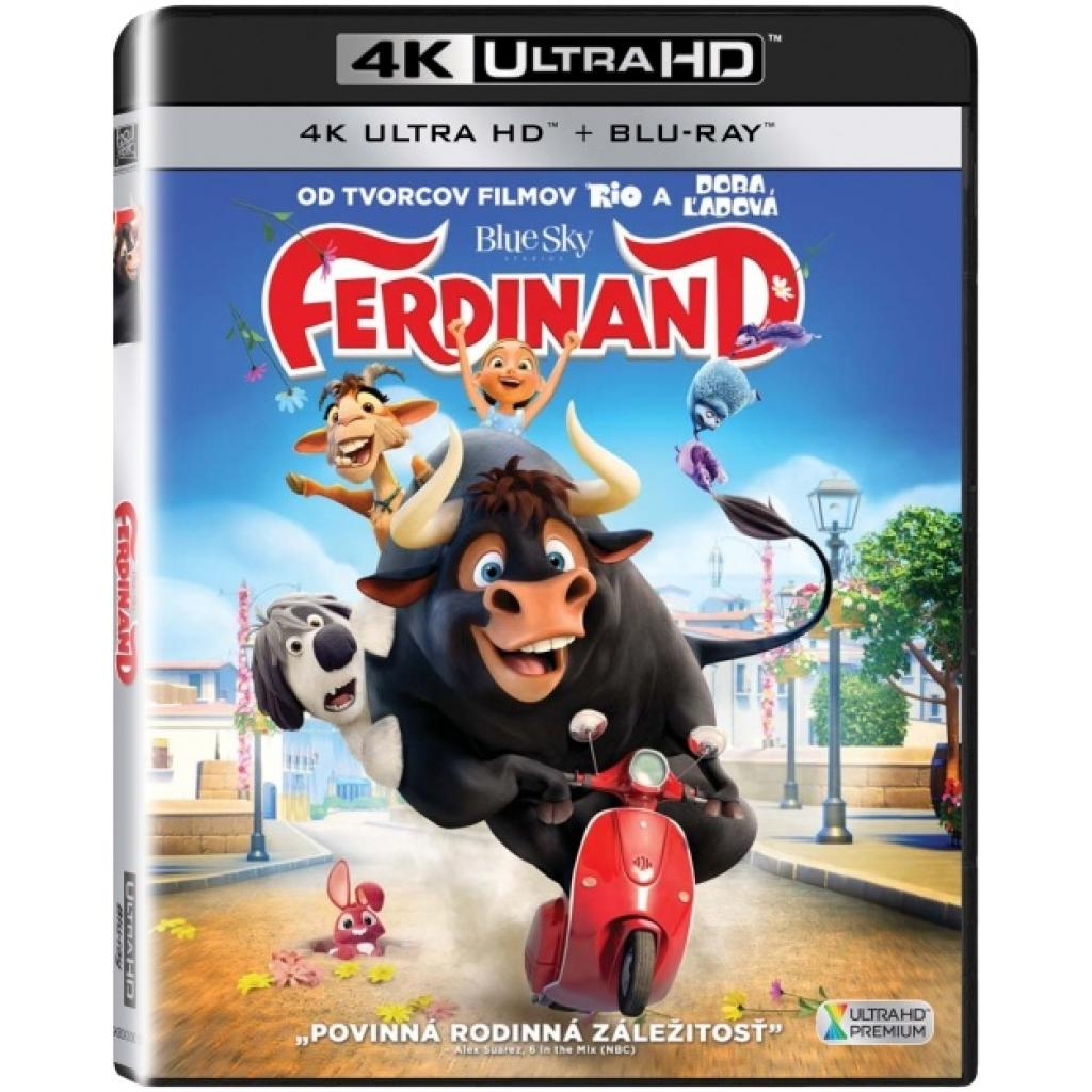 Blu-ray Ferdinand, UHD + BD, CZ dabing