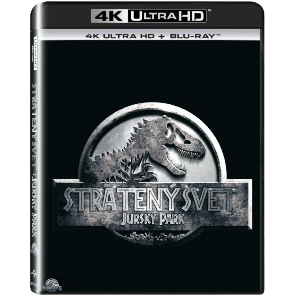 Blu-ray Jurský Park: Stratený svet, The Lost World: Jurassic Park, UHD + BD, CZ dabing