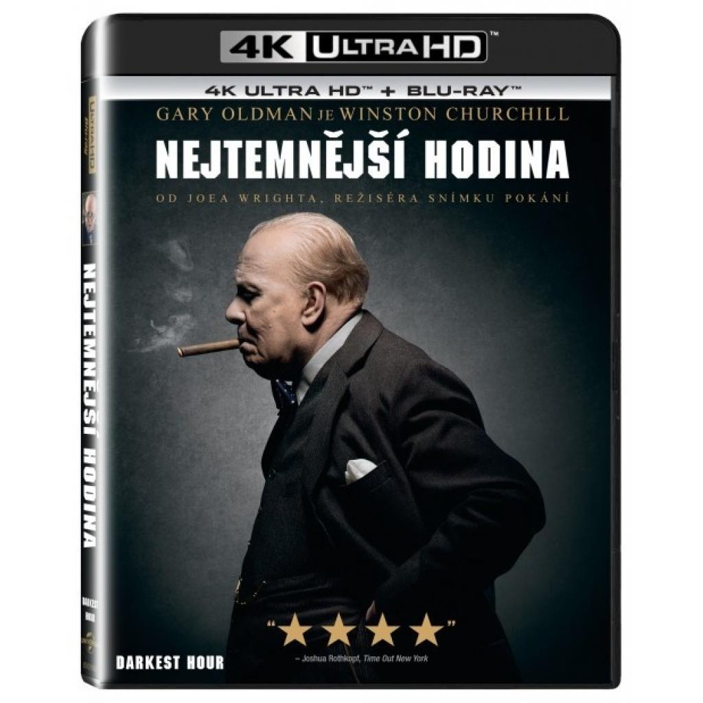 Blu-ray Najtemnejšia hodina, The Darkest Hour, UHD + BD, CZ dabing