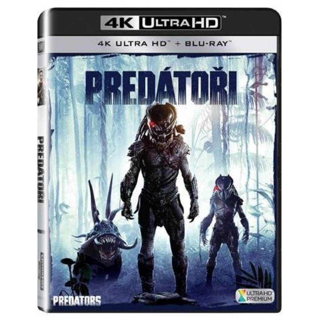 Blu-ray Predátori, UHD + BD, CZ dabing