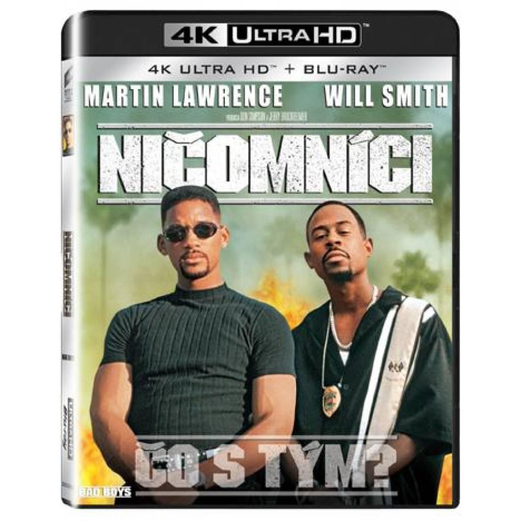Blu-ray Ničomníci, UHD + BD, CZ dabing
