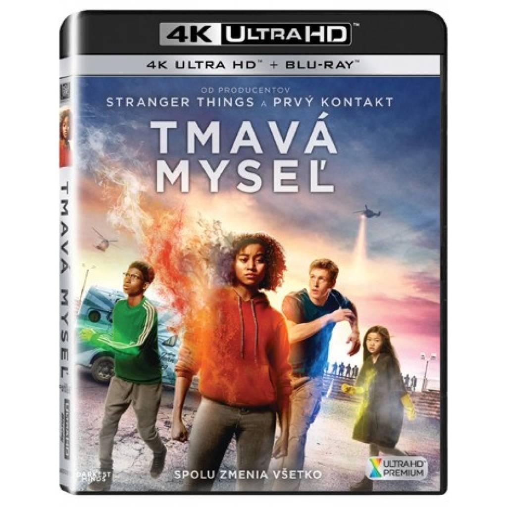 Blu-ray Tmavá mysel, UHD + BD, CZ dabing