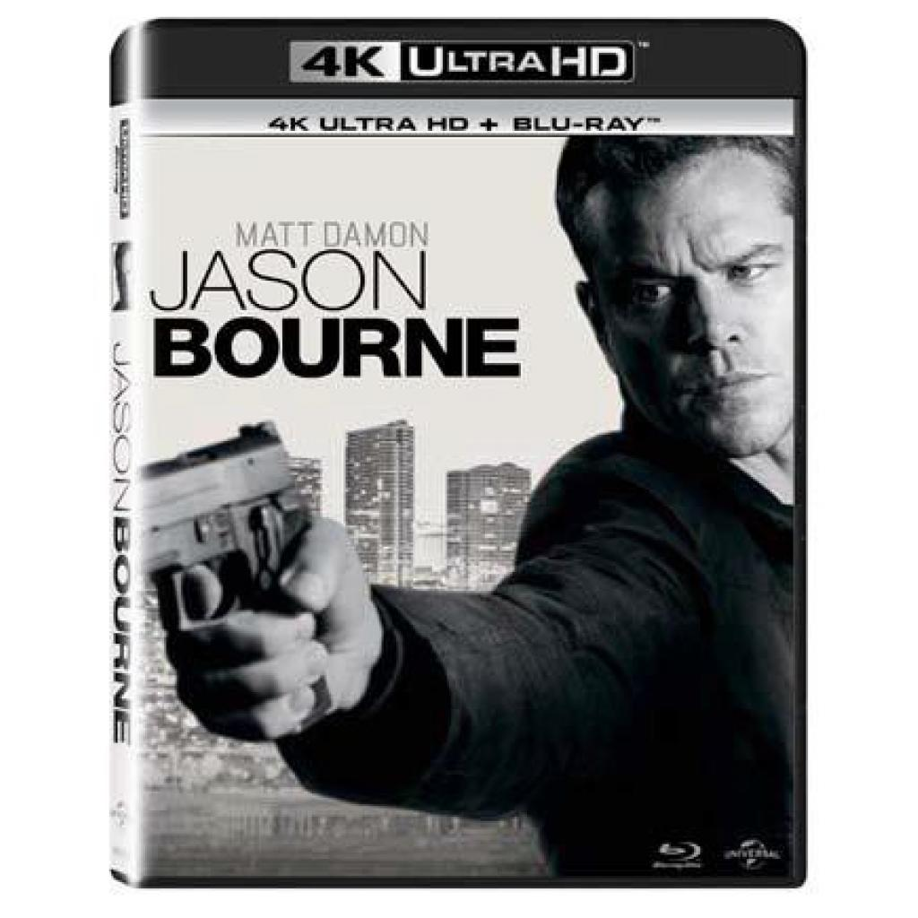 Blu-ray Jason Bourne, UHD + BD, CZ dabing