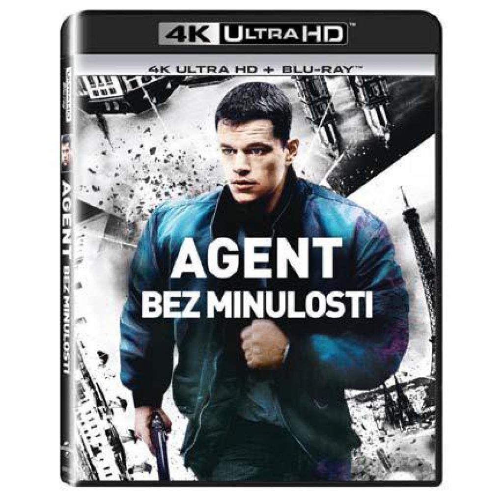 Blu-ray Agent bez minulosti, The Bourne Identity UHD + BD, CZ dabing