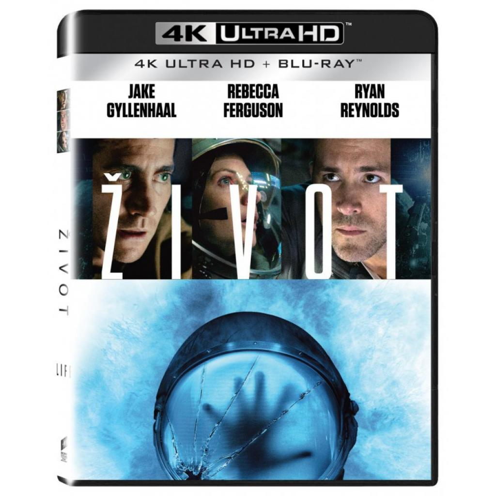 Blu-ray Život, Life, UHD + BD, CZ dabing