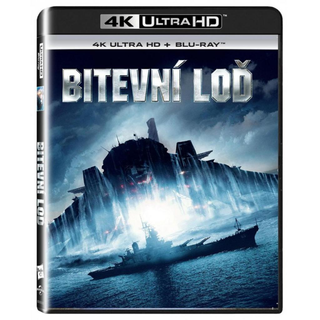 Blu-ray Bitevní loď, The Battle Ship , UHD + BD, CZ dabing