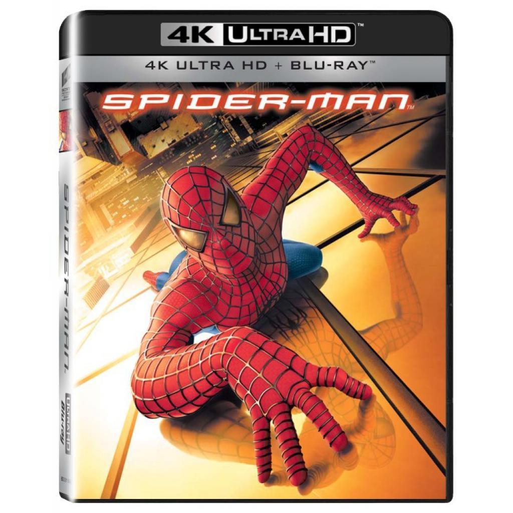 Blu-ray Spider-man, UHD + BD, CZ dabing