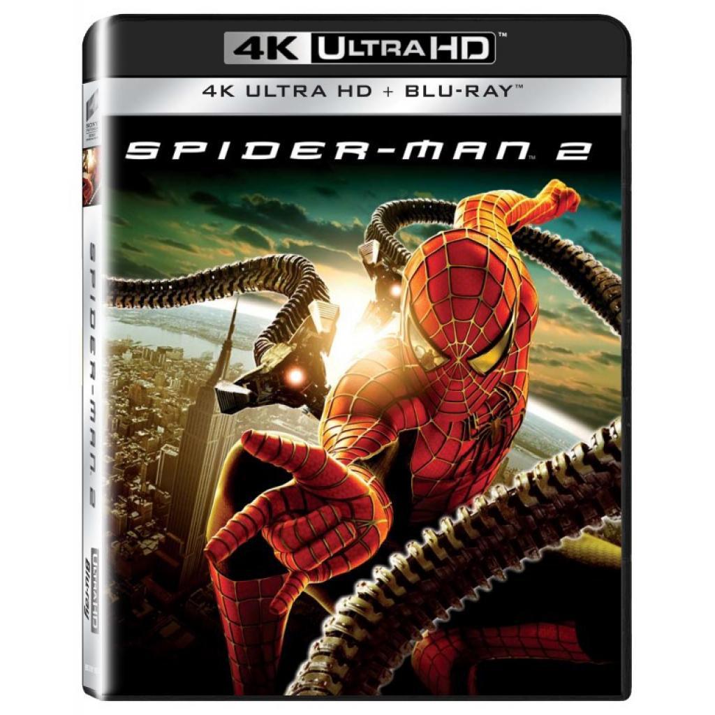 Blu-ray Spider-man 2, UHD + BD, CZ dabing