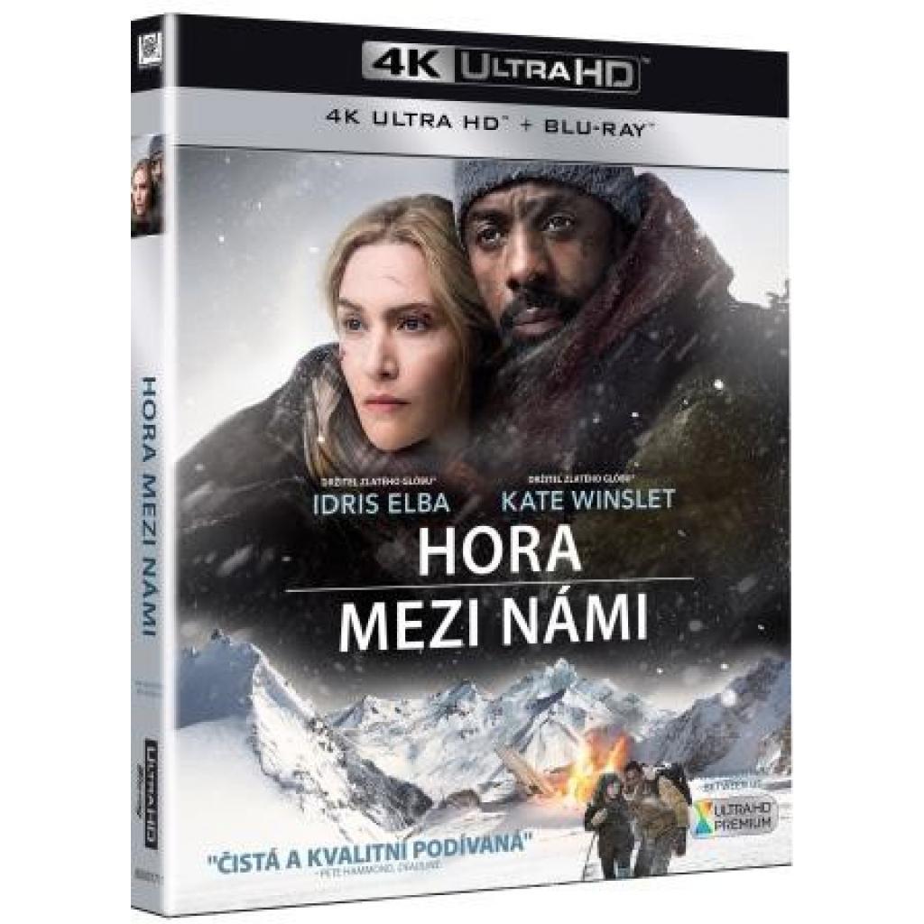 Blu-ray Hora mezi námi, The Mountain Between Us, UHD + BD, CZ dabing
