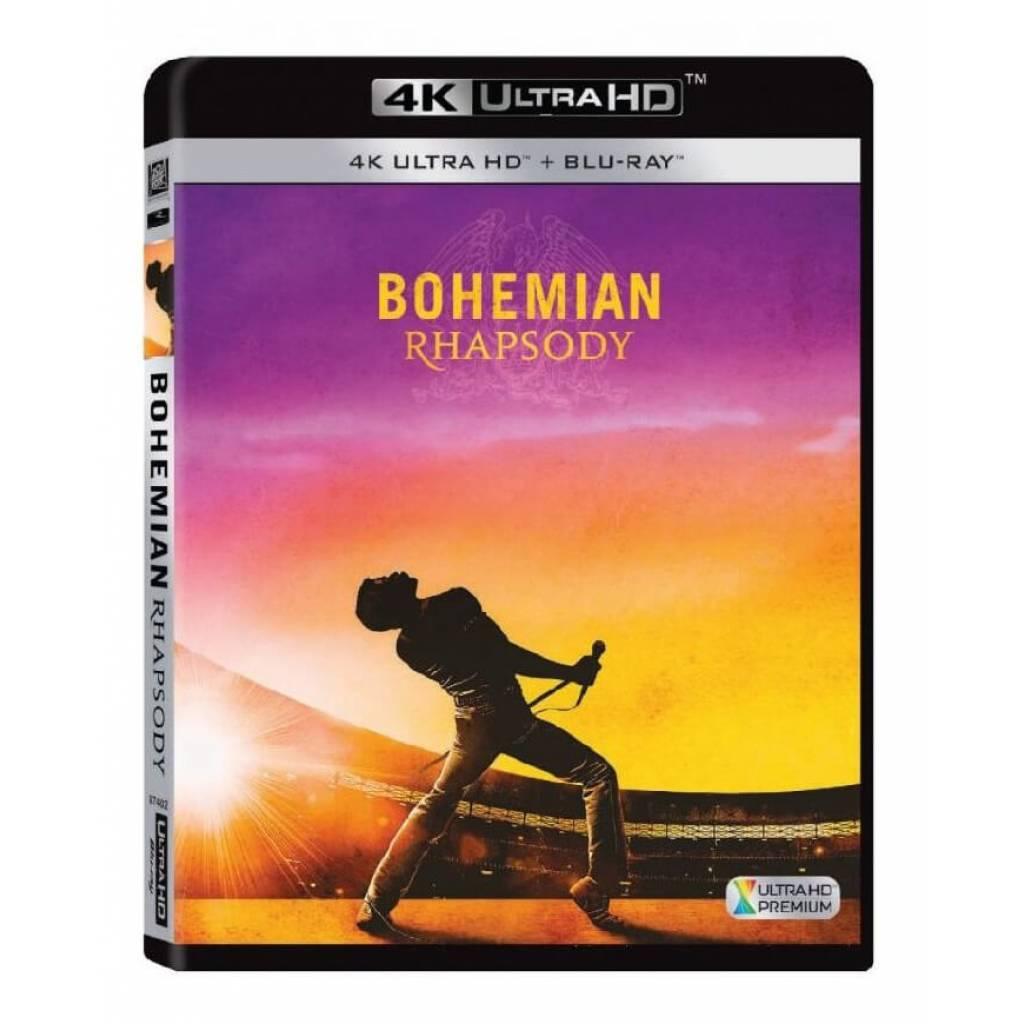 Blu-ray Bohemian Rhapsody, UHD + BD, CZ dabing