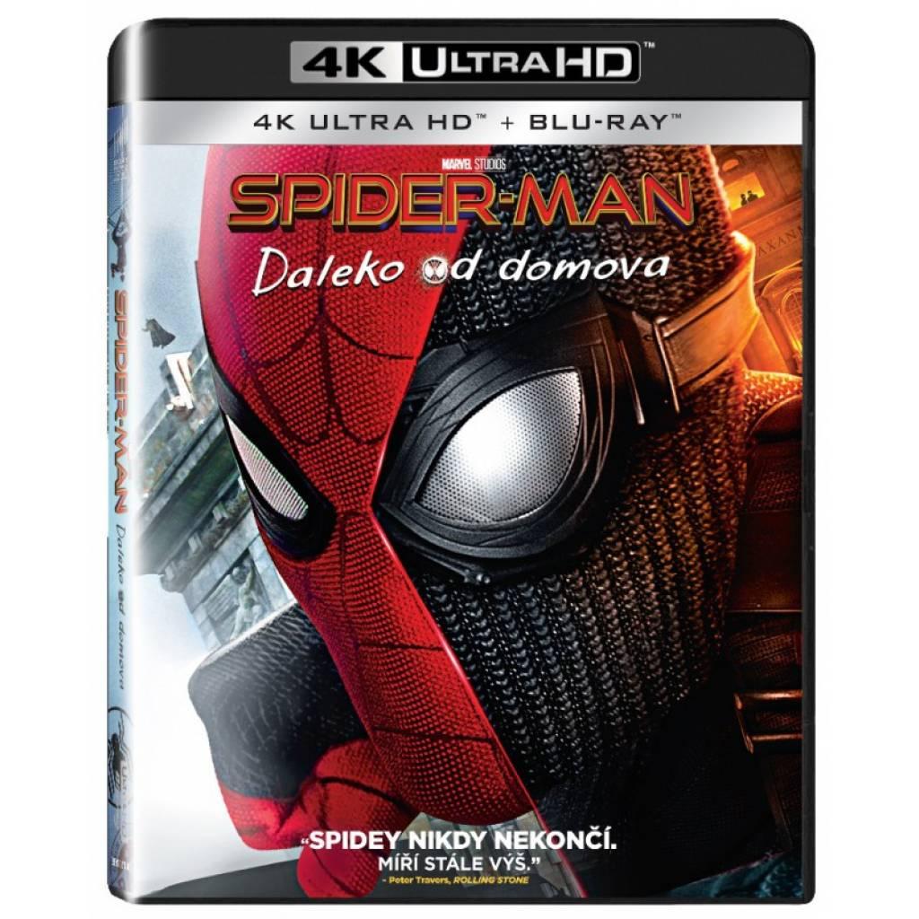 Blu-ray Spider-man: Daleko od domova, UHD + BD, SK dabing