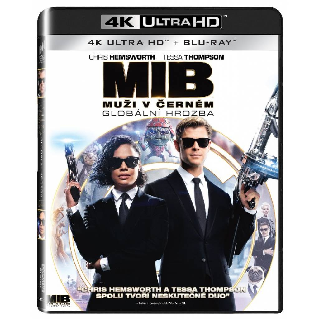 Blu-ray Muží v černém: Globální hrozba, UHD + BD, CZ dabing