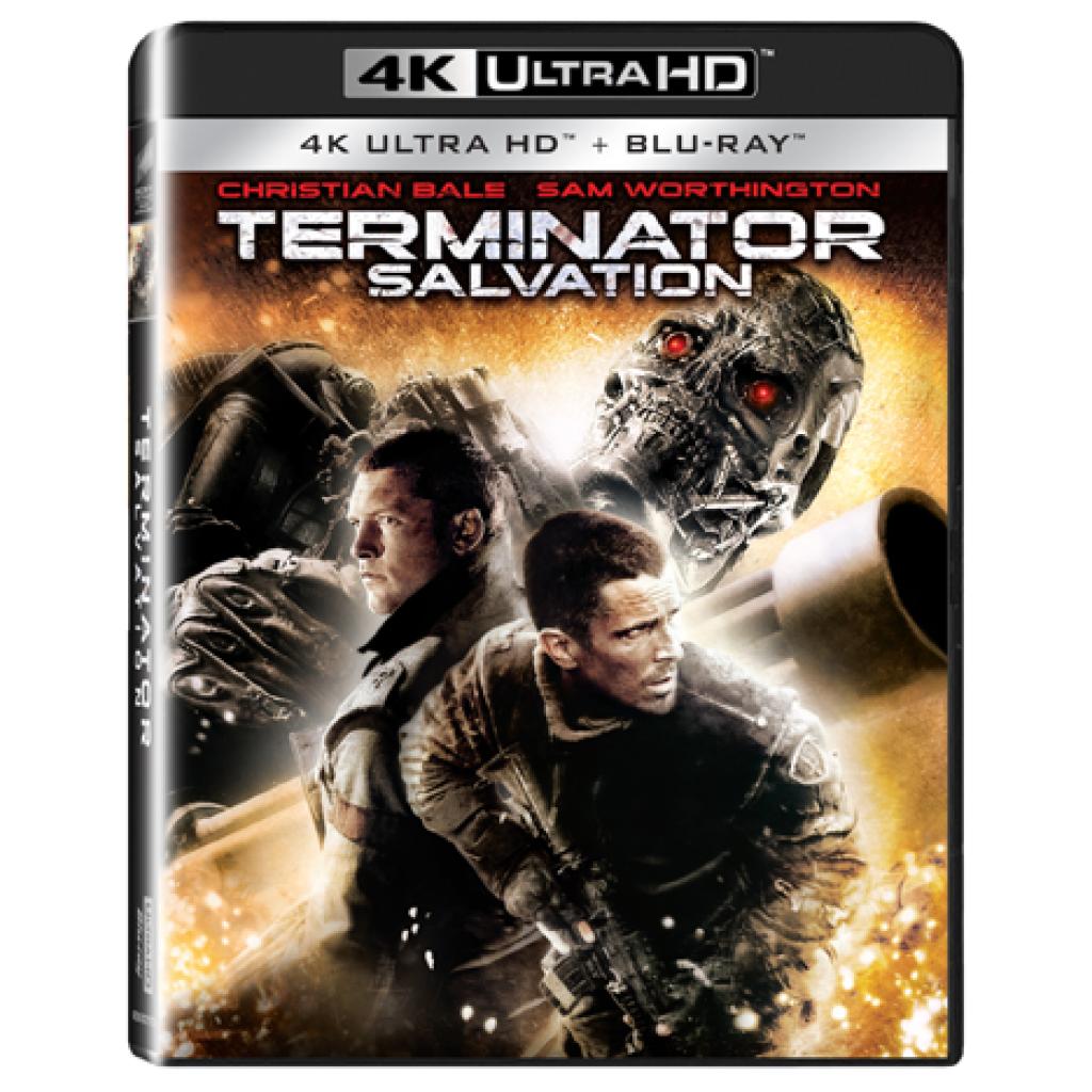 Blu-ray Terminátor: Salvation, UHD + BD, CZ dabing