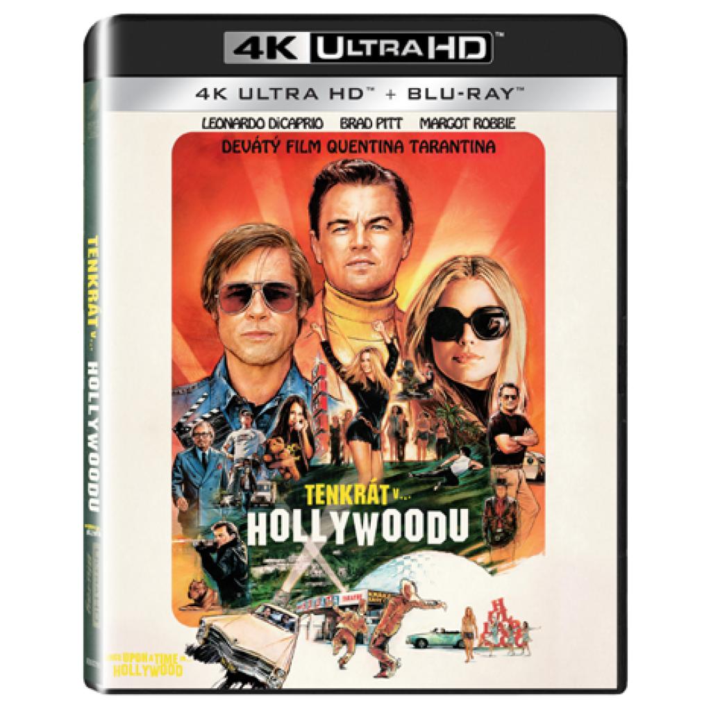 Blu-ray Tenkrát v Hollywoodu, UHD + BD, CZ dabing