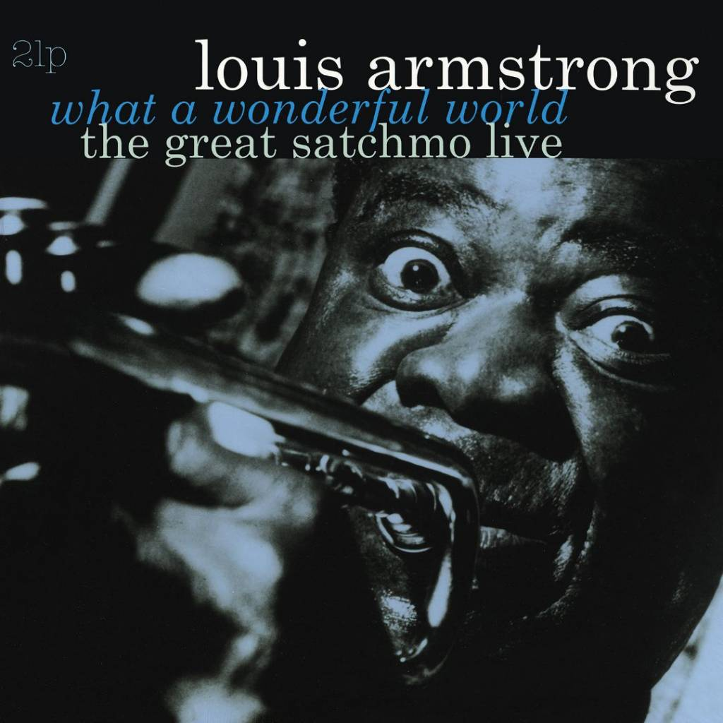 Vinyl Louis Armstrong - What a Wonderful World / the Great Satchmo Live, Vinyl Passion, 2015, 2LP, 180g