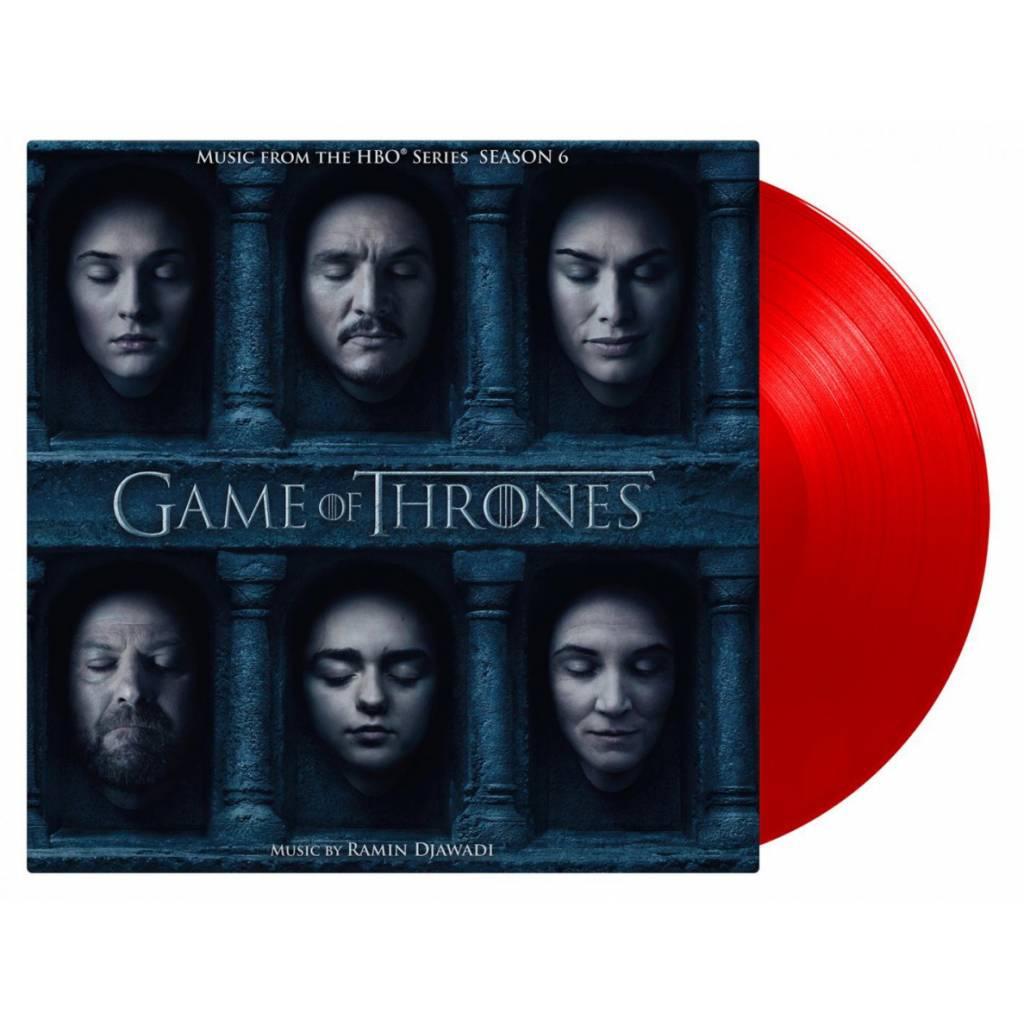 Vinyl Ramin Djawadi - Game Of Thrones 6 Soundtrack, Music On Vinyl, 2018, 3LP, 180g, HQ, Coloured Vinyl