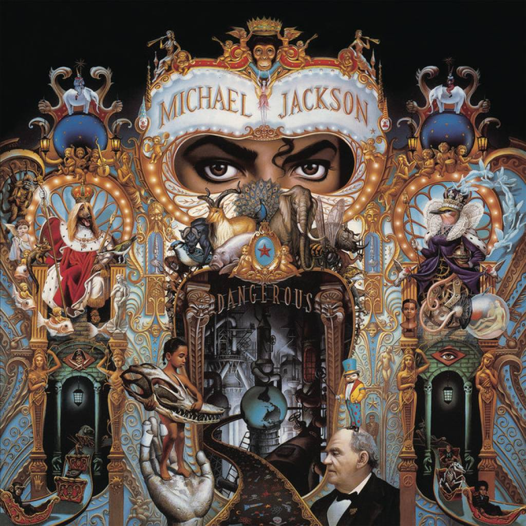 Vinyl Michael Jackson - Dangerous, Epic, 2018, 2LP