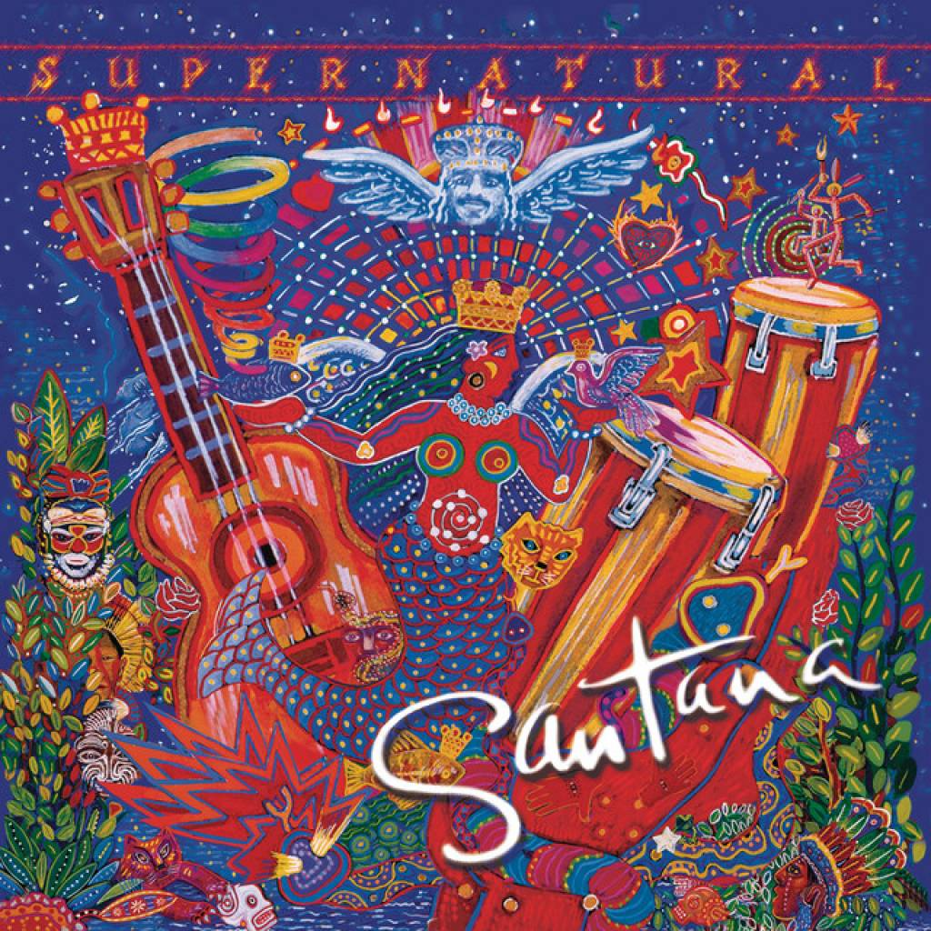 Vinyl Santana - Supernatural, Arista, 2019, 2LP