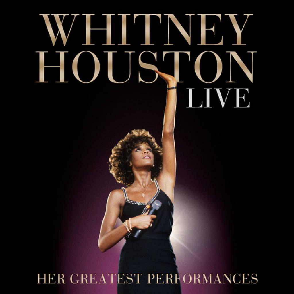 CD Whitney Houston - Live: Her Greatest Performances, Arista, 2014, CD + DVD