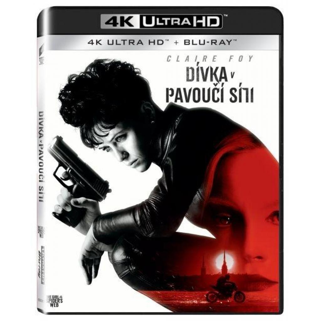 Blu-ray Dívka v pavoučí síti, UHD + BD, 2BD, CZ dabing