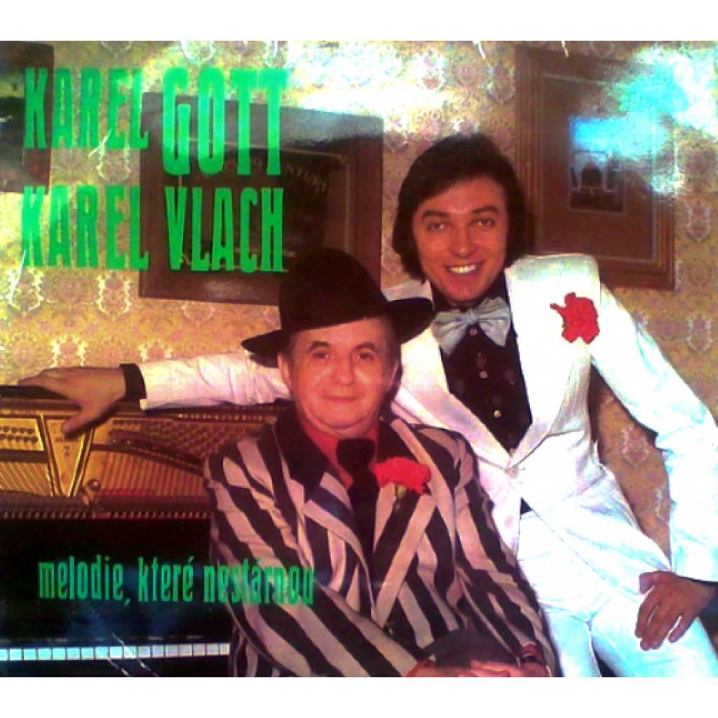 Vinyl Karel Gott, Karel Vlach - Melodie, které nestárnou, Supraphon