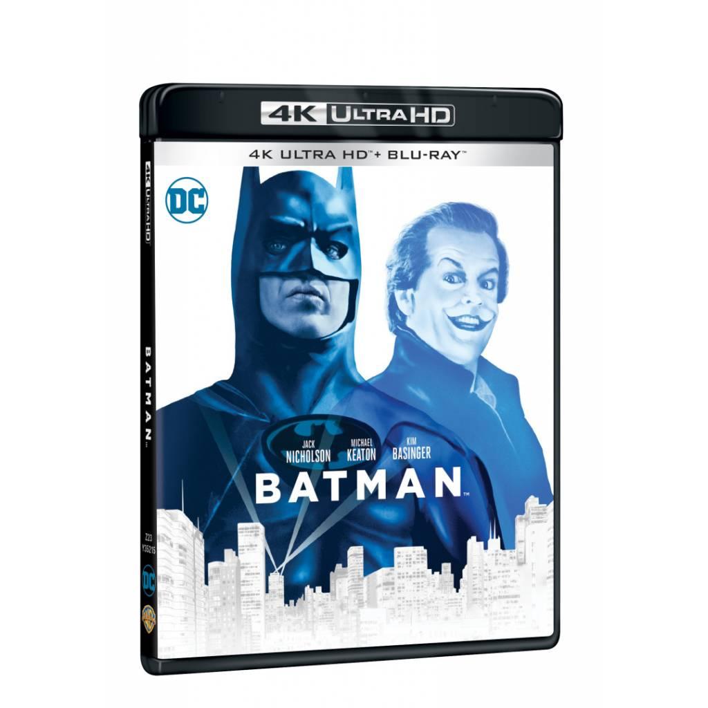 Blu-ray Batman, UHD + BD, CZ dabing