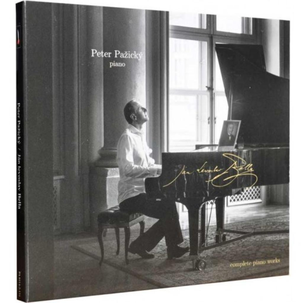 CD/FLAC 5 kanál Ján Levoslav Bella - Complete Piano Works (Peter Pažický)