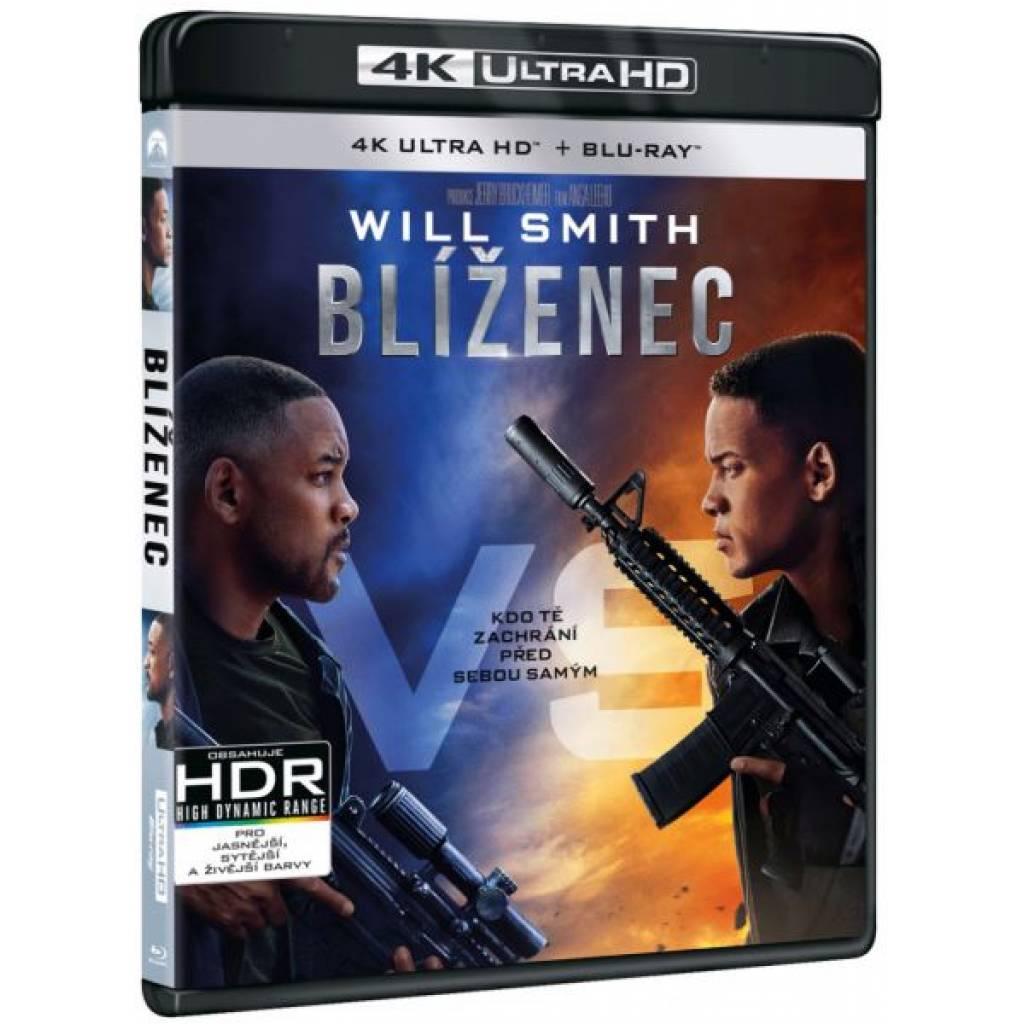 Blu-ray Blíženec, UHD + BD, CZ dabing