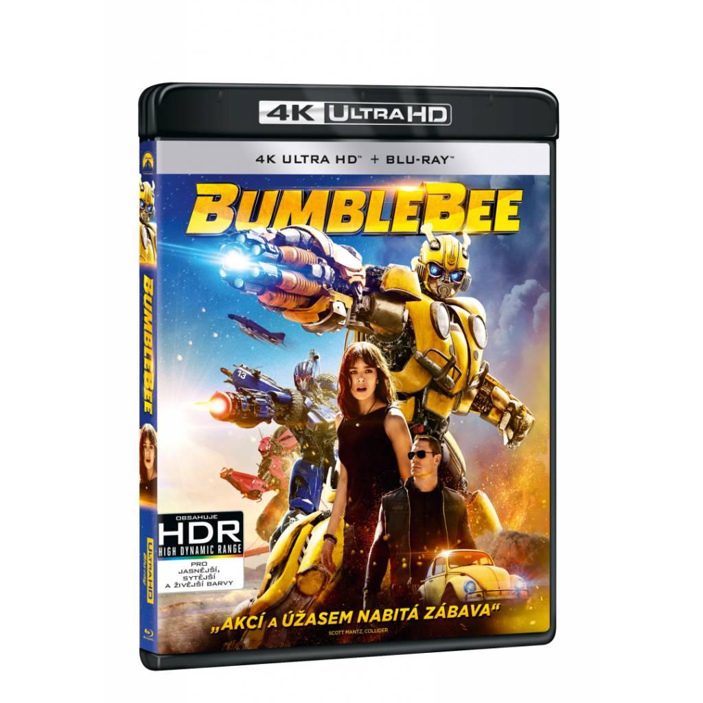 Blu-ray Bumblebee, UHD + BD, CZ dabing