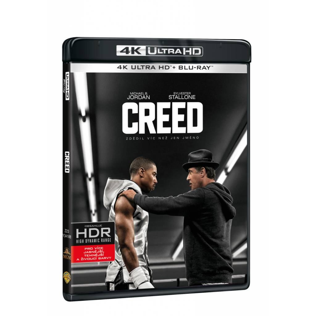 Blu-ray Creed, UHD + BD, CZ dabing