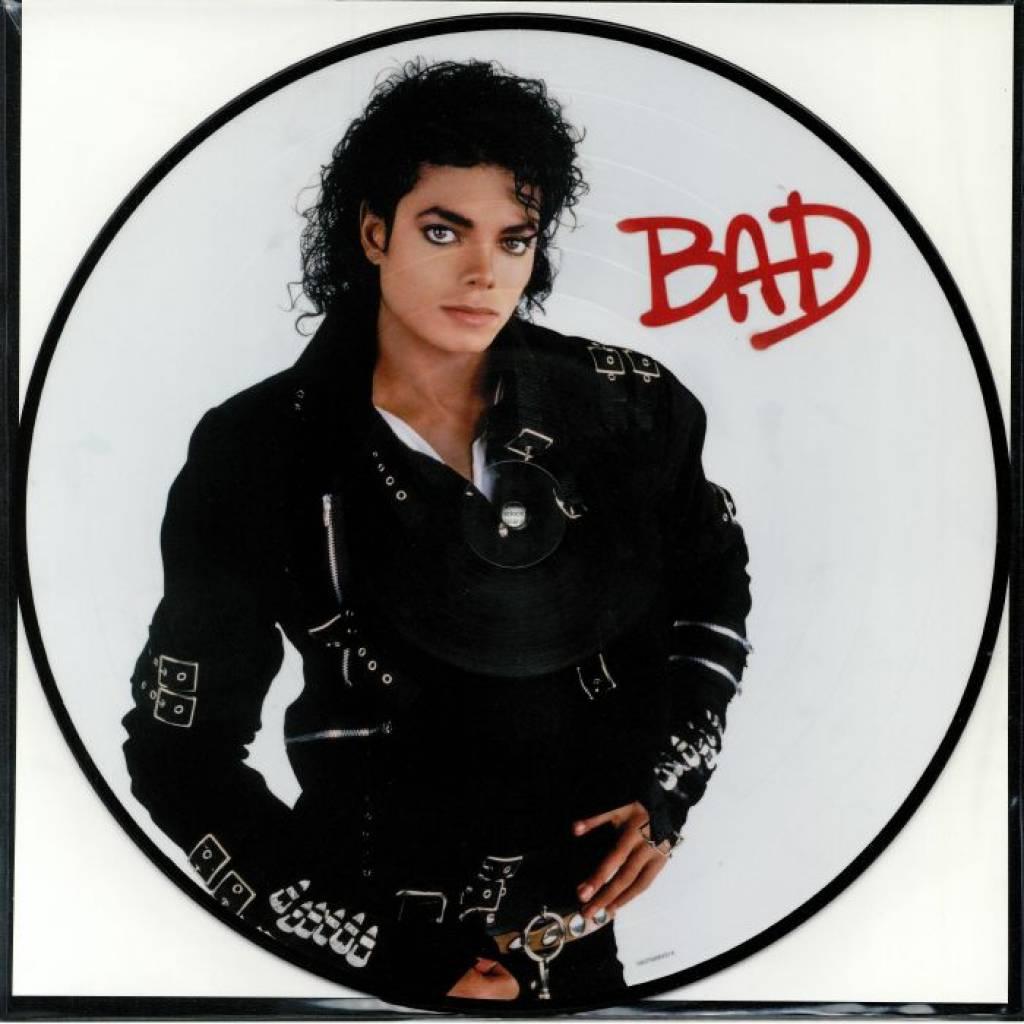 Vinyl Michael Jackson – Bad, Epic, 2018, Obrázková platňa