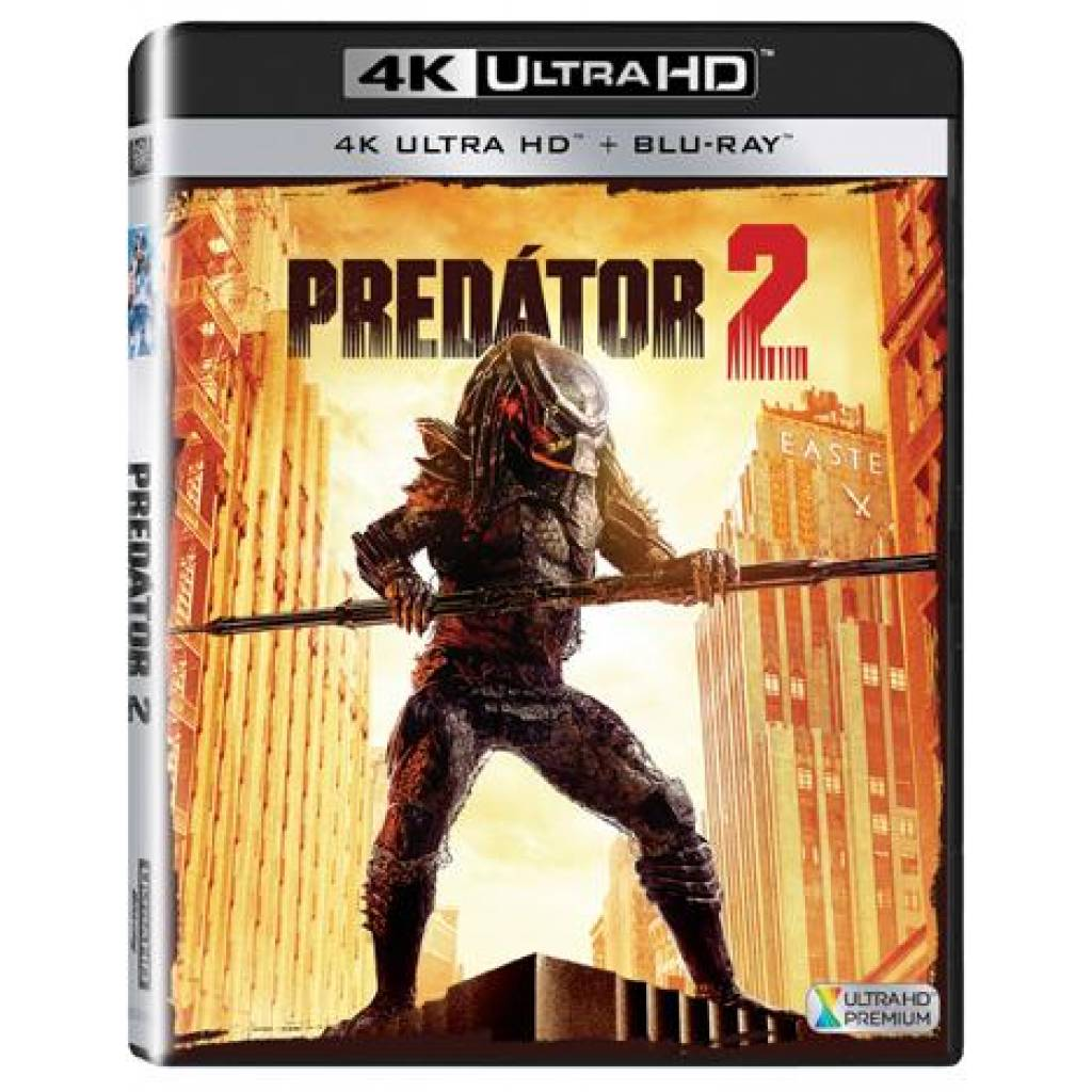 Blu-ray Predátor 2, UHD CZ dabing + BD CZ titulky