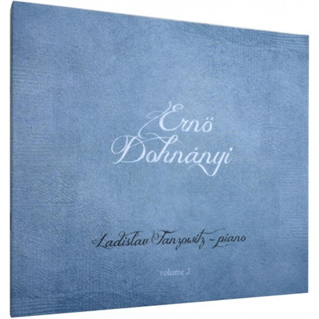 CD/FLAC 5 kanál Dohnányi Ernő 2 - Ladislav Franzowitz (piano)