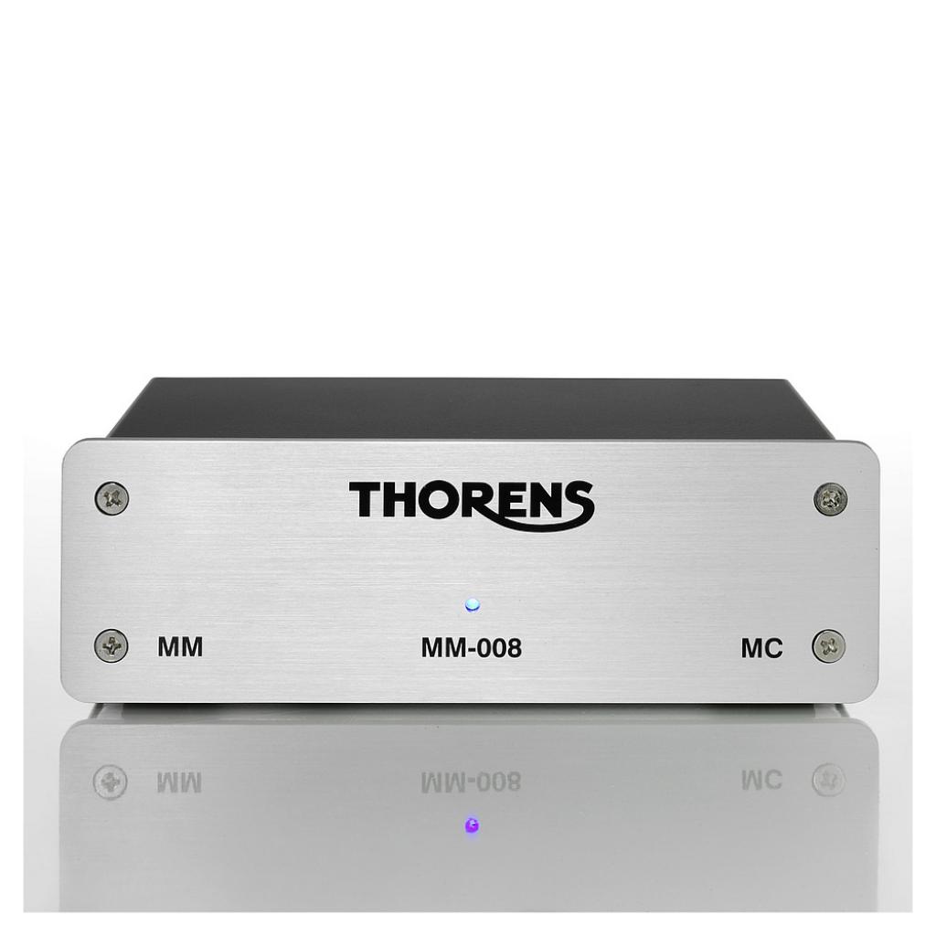 Phono Predzosilňovač Thorens MM-008 (MM/MC) Strieborná