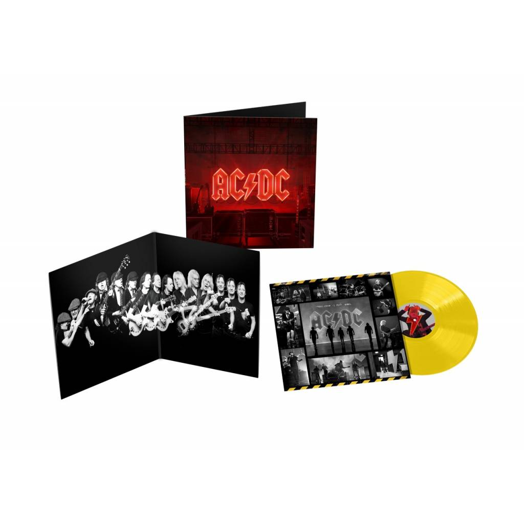 Vinyl AC/DC - Power Up, Sony Music, 2020, Žltý vinyl