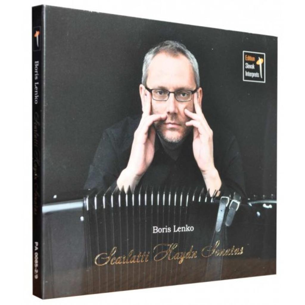 CD/DVD Audio 5 kanál Scarlatti – Haydn Sonatas (Boris Lenko)