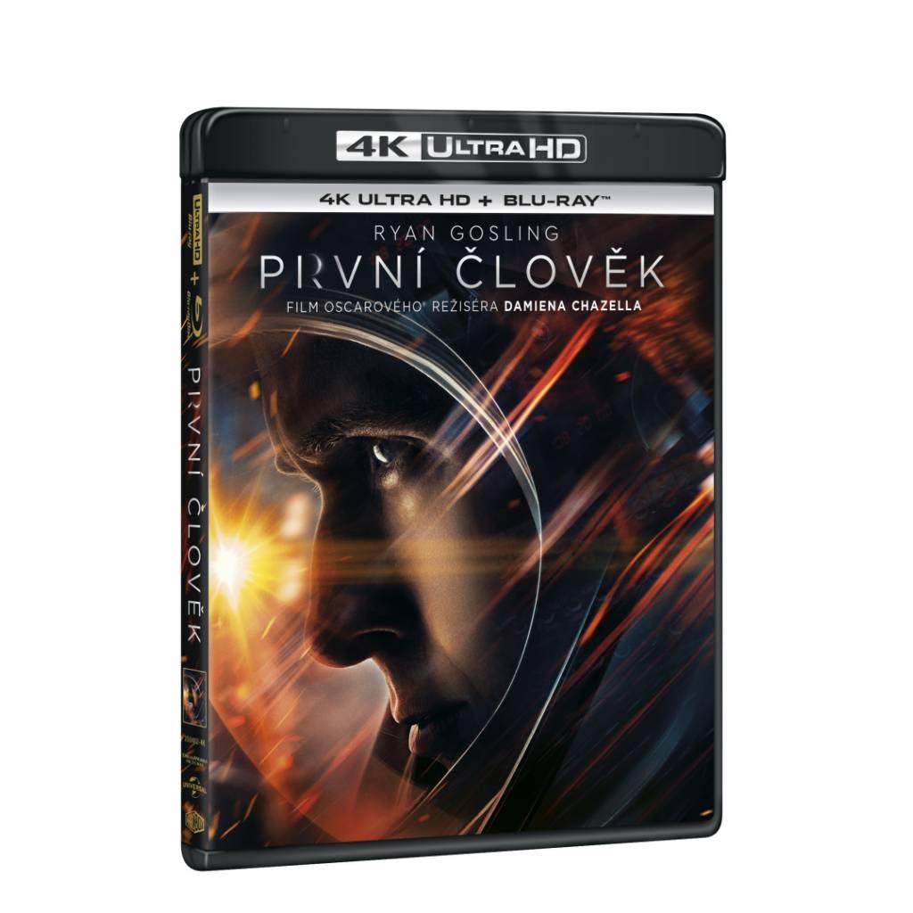 Blu-ray První člověk, UHD + BD, CZ dabing