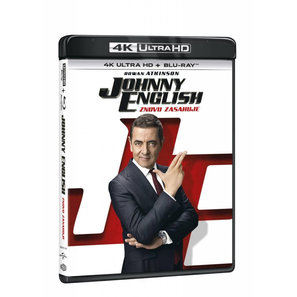 Blu-ray Johny English znovu zasahuje, UHD + BD, CZ dabing